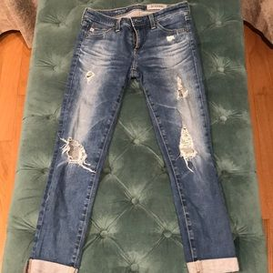 AG-ED Denim Adriano Goldschmied Size 25 Rollup